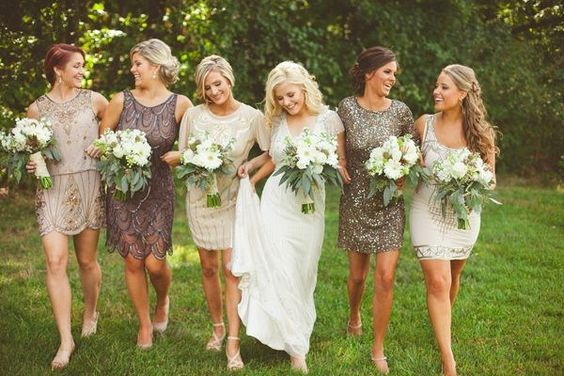 Ideas for Eye-Catching Bridesmaid Dress Designs