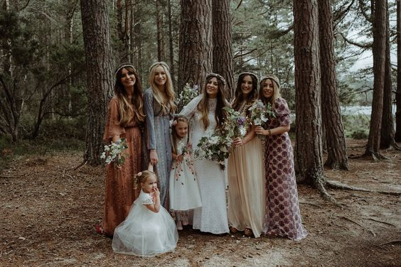 30+ Bohemian Wedding Dresses Brides will Love for 2019