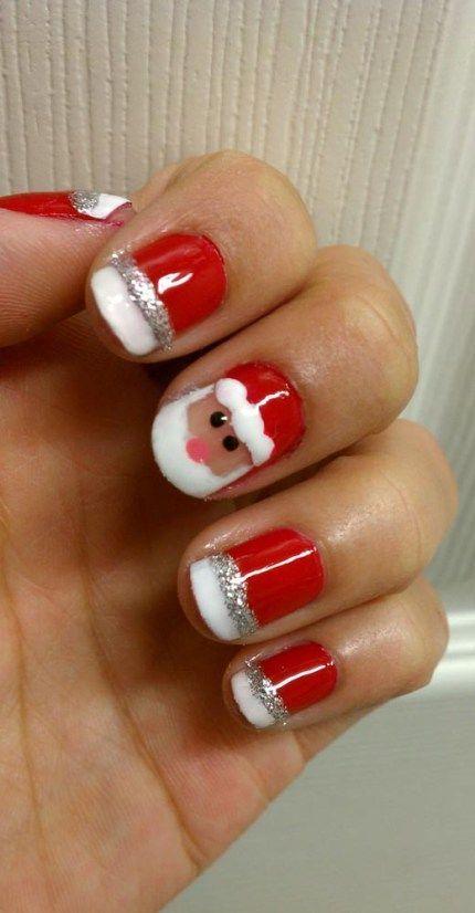 Creative-Christmas-Nail-Art-Designs