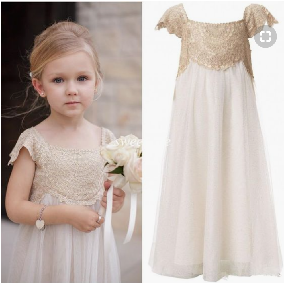 20+ Of The CUTEST Flower Girl Dresses That Really Inspire