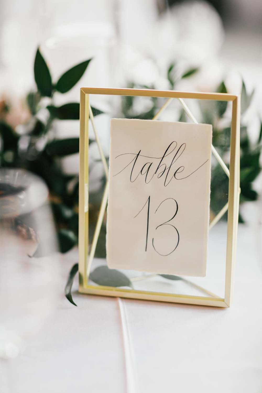 Wedding Table Numbers For Your Big Day