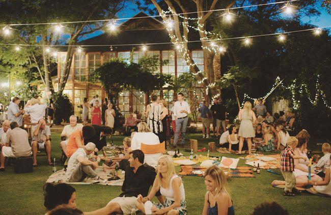 Beautiful Picnic Wedding Reception Ideas You Will Like