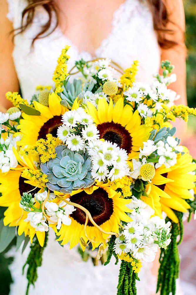 Bright Sunflower Wedding Ideas You Will Enjoy