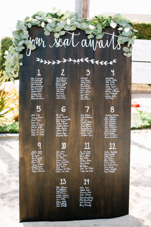 Modern And Creative Seating Chart Ideas To Inspire
