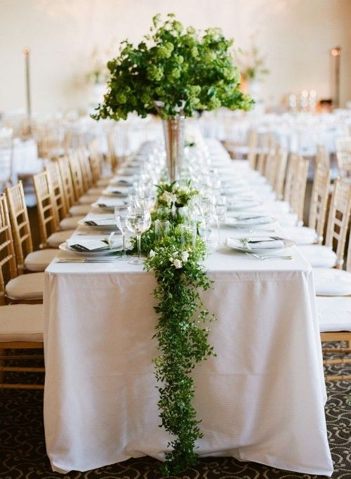 Spring Wedding Table Runners for Your Wedding