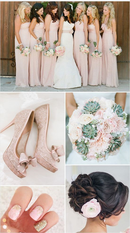 Wedding Color Combos With Pink You Will Like