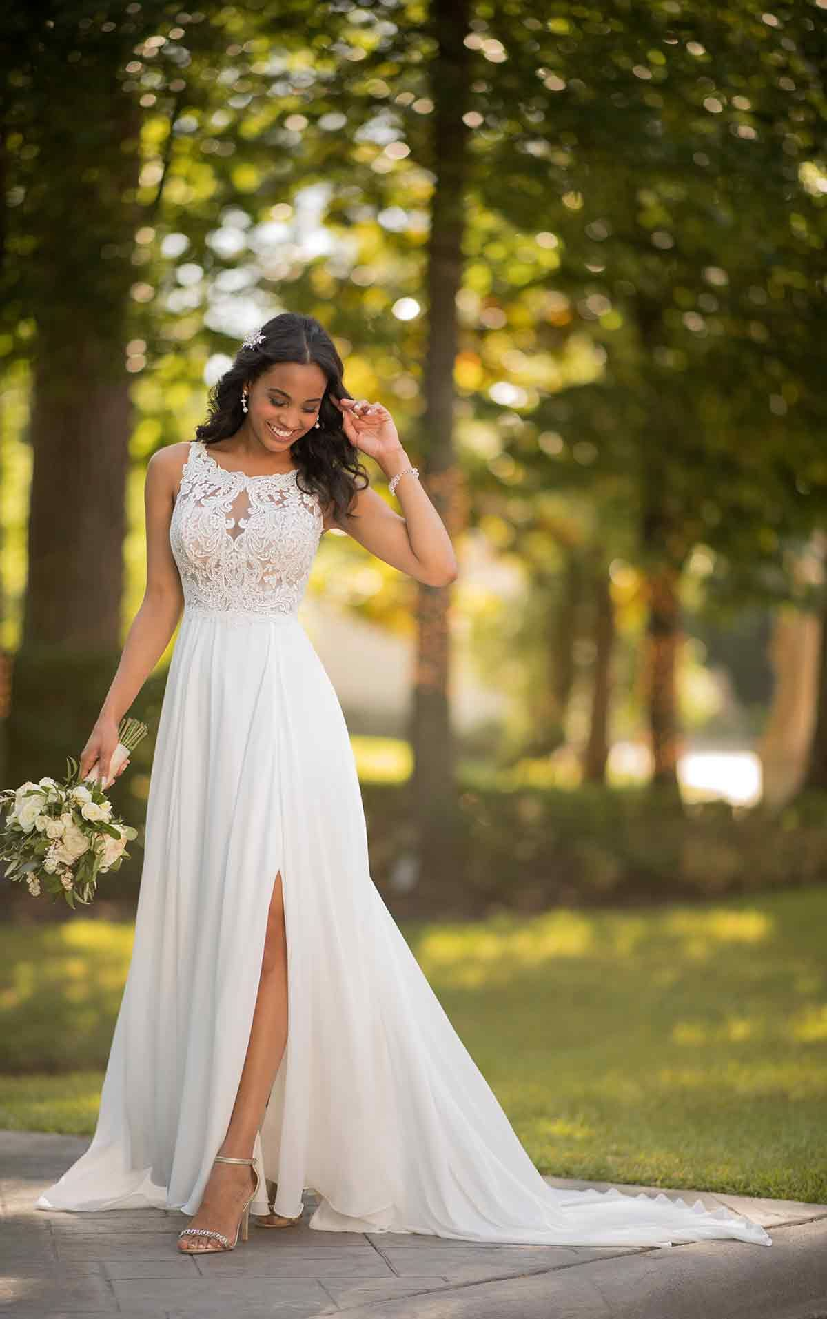 Gorgeous Wedding Dresses With Slits
