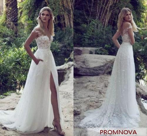 44 Gorgeous Wedding Dresses With Slits