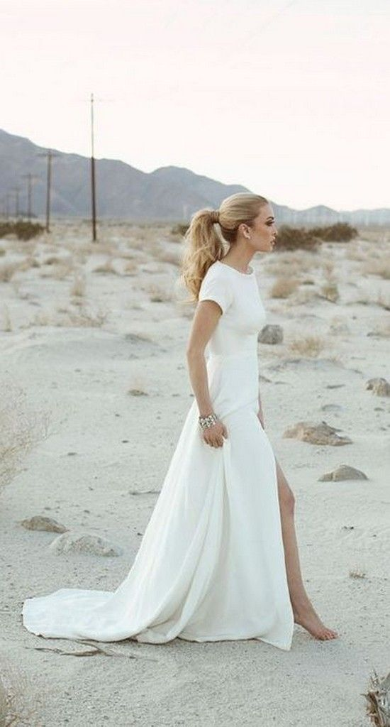 Gorgeous Wedding Dresses With Slits