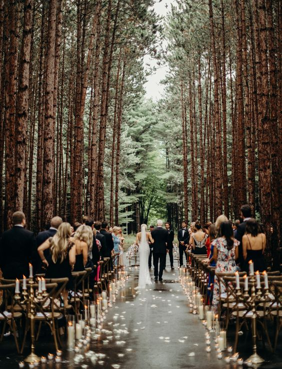 Magical Fairy Tale Wedding in The Woods