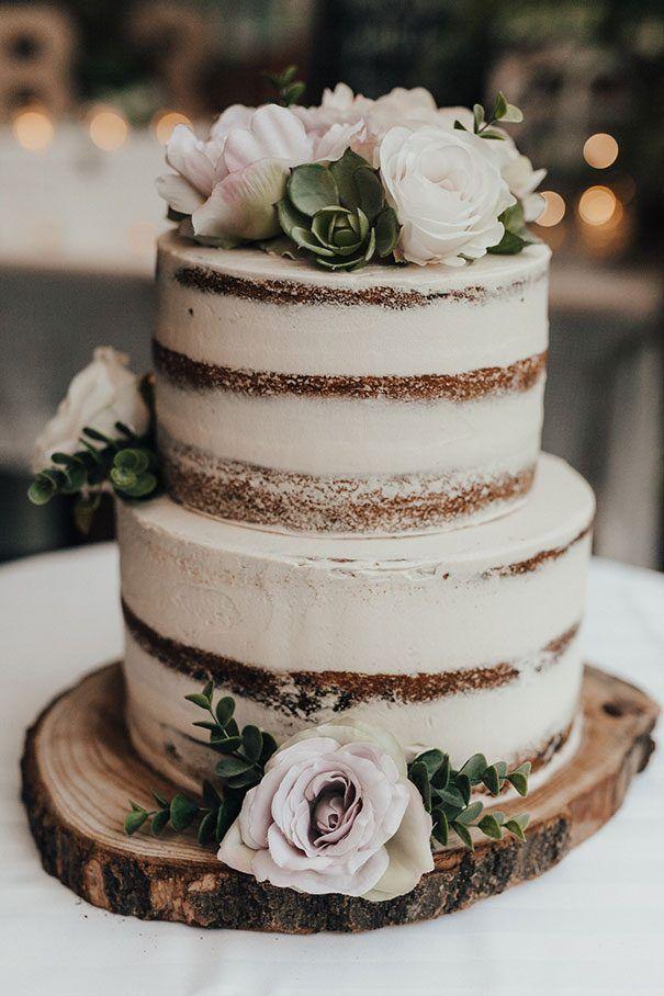 Naked Wedding Cake Inspirations