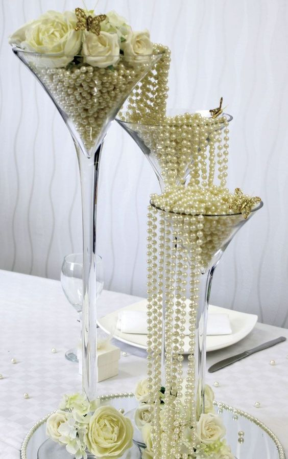 Vintage Wedding Centerpieces and Decoration Ideas