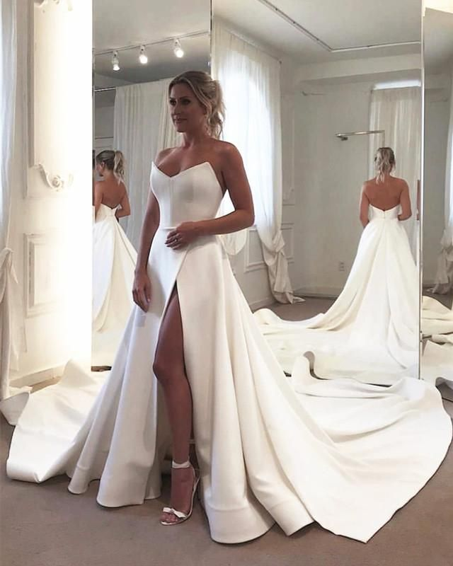 77 Simple Wedding Dresses To Blow Your Mind Away