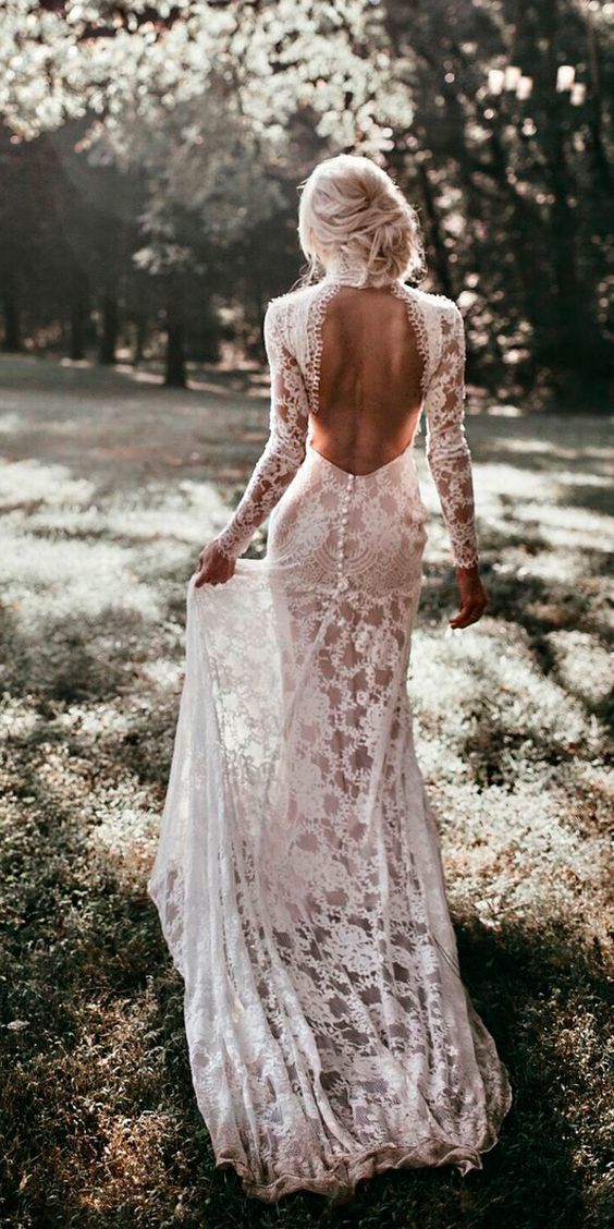 Backless Wedding Dresses That You will Love