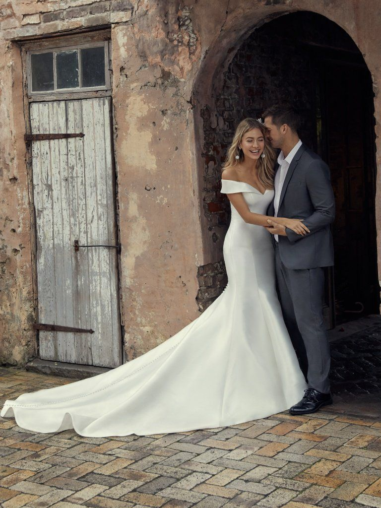 Off The Shoulder Wedding Dresses To Stand Out