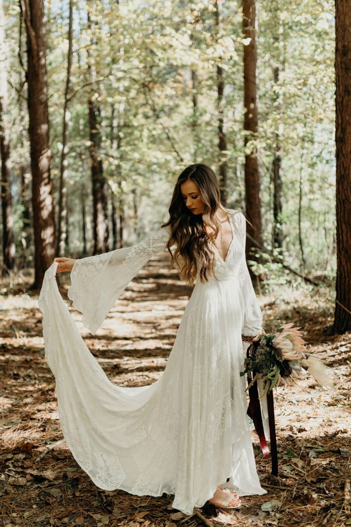 Boho Wedding Dresses That Inspire