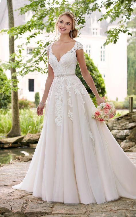 A Line Wedding Dresses To LOVE