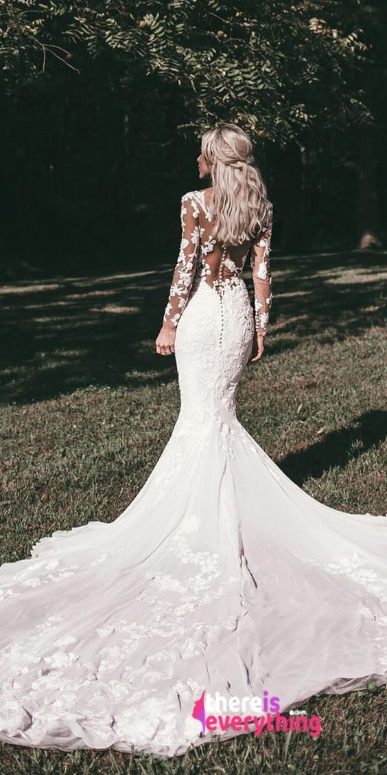 Mermaid Wedding Dresses Into Your Wedding