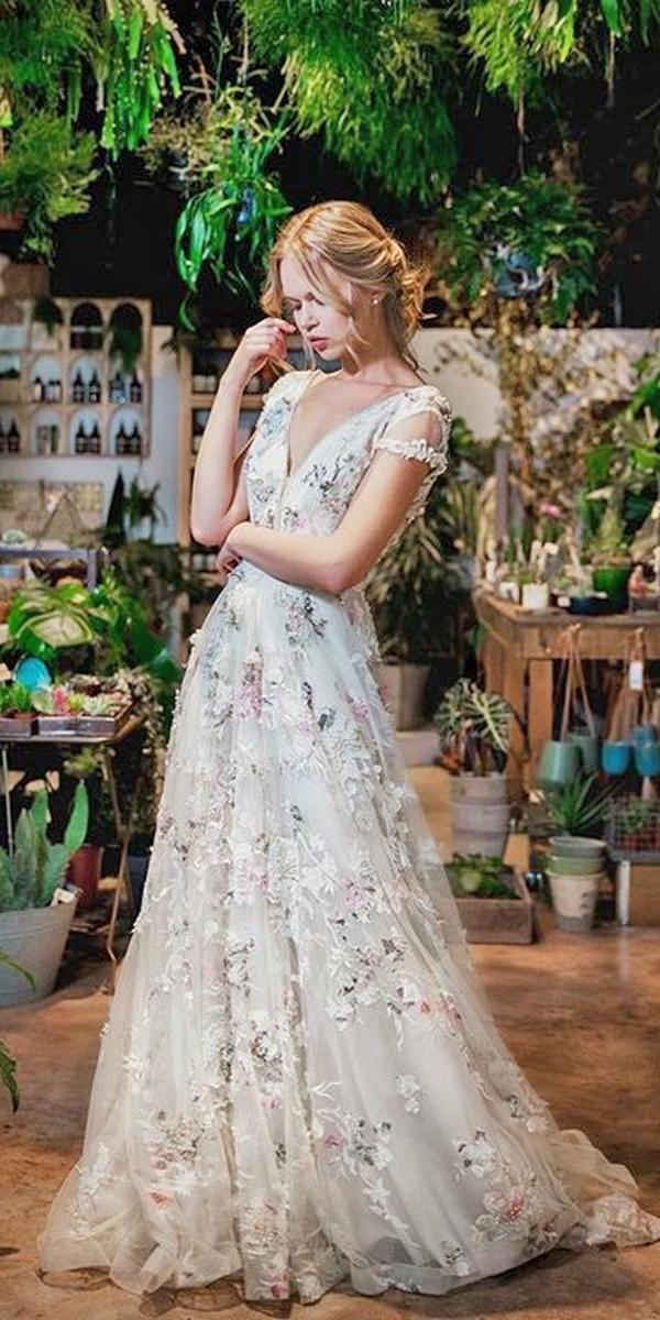Floral Wedding Dresses To Rock
