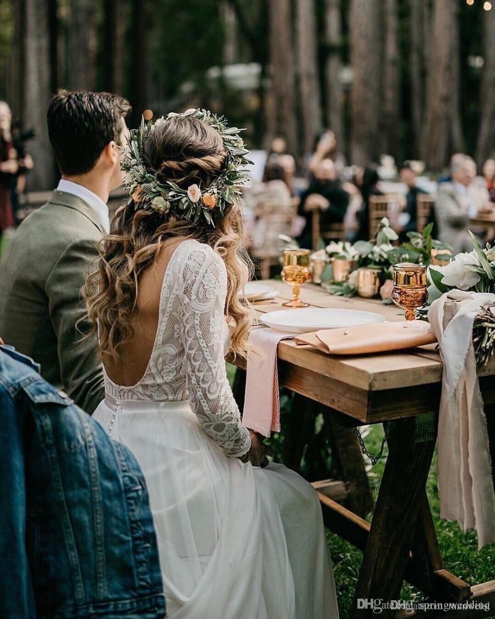 46 Boho Wedding Dresses That Inspire