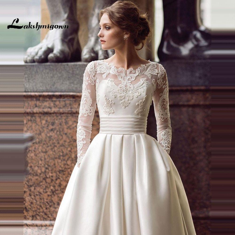 35 Modest Wedding Dresses To LOVE