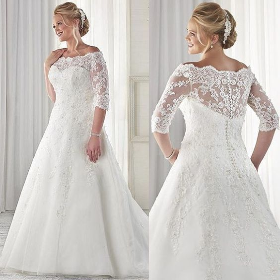 42 Plus Size Wedding Dresses You Will Love
