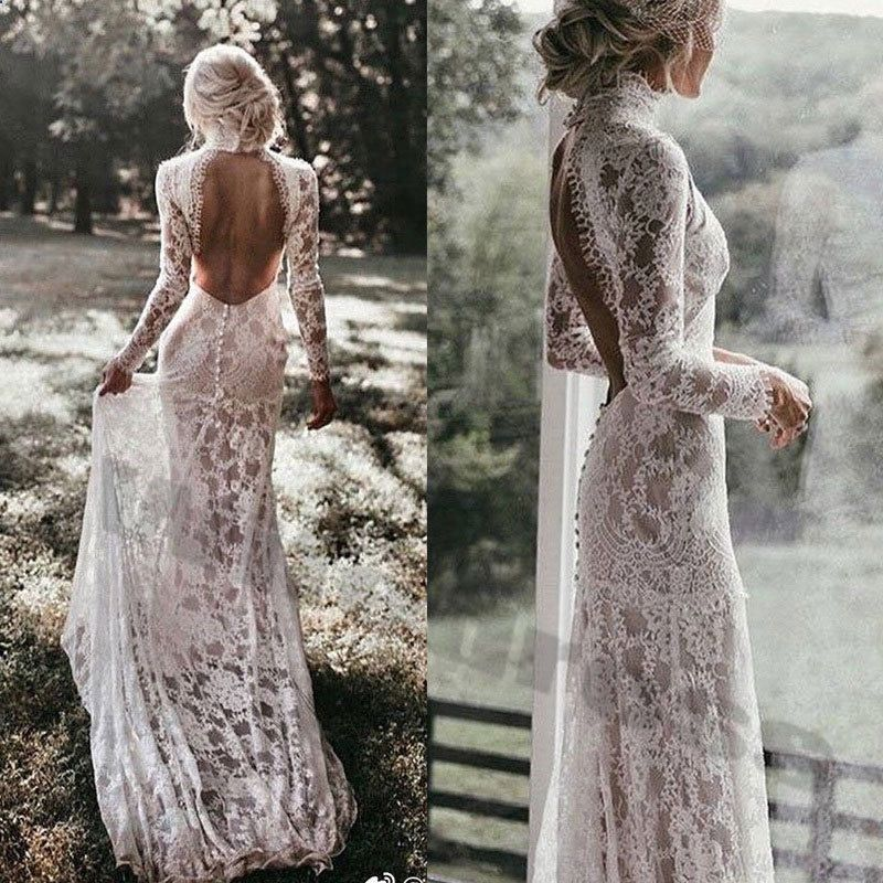 42 Backless Wedding Dresses That You will Love