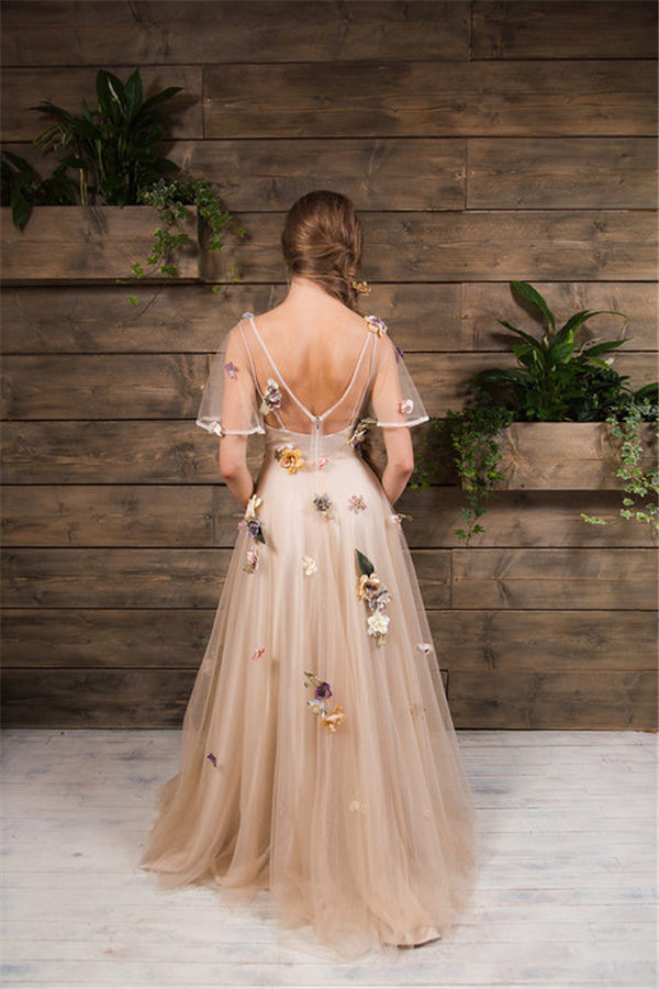 Floral Wedding Dresses To Rock
