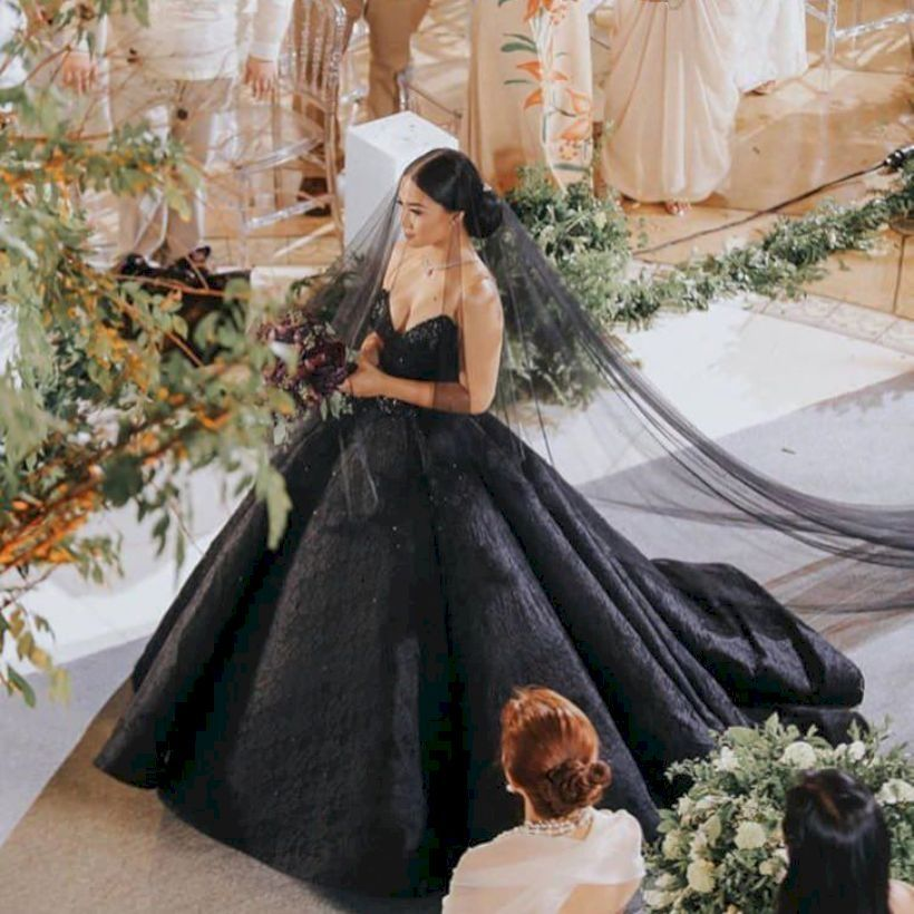 41 Black Wedding Dresses To Excite You