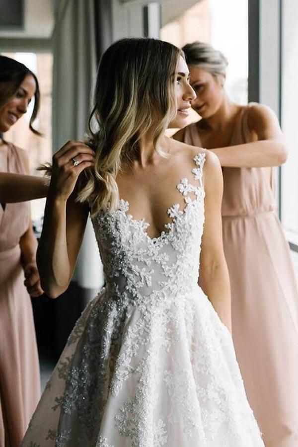 A Line Wedding Dresses To LOVE