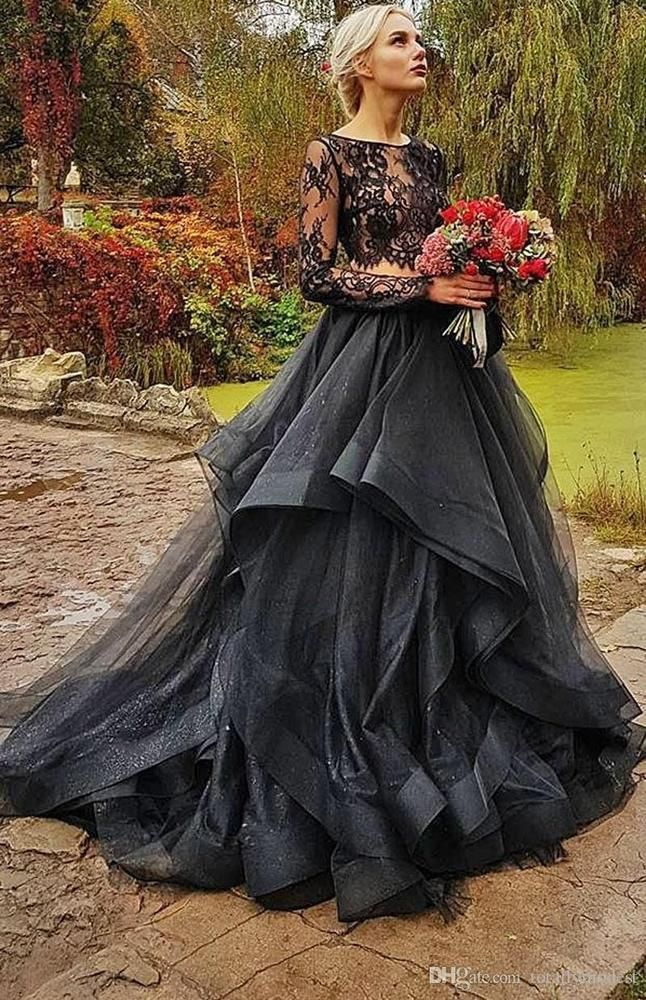 Black Wedding Dresses To Excite You
