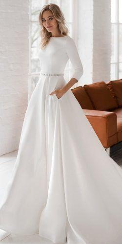 Modest Wedding Dresses To LOVE