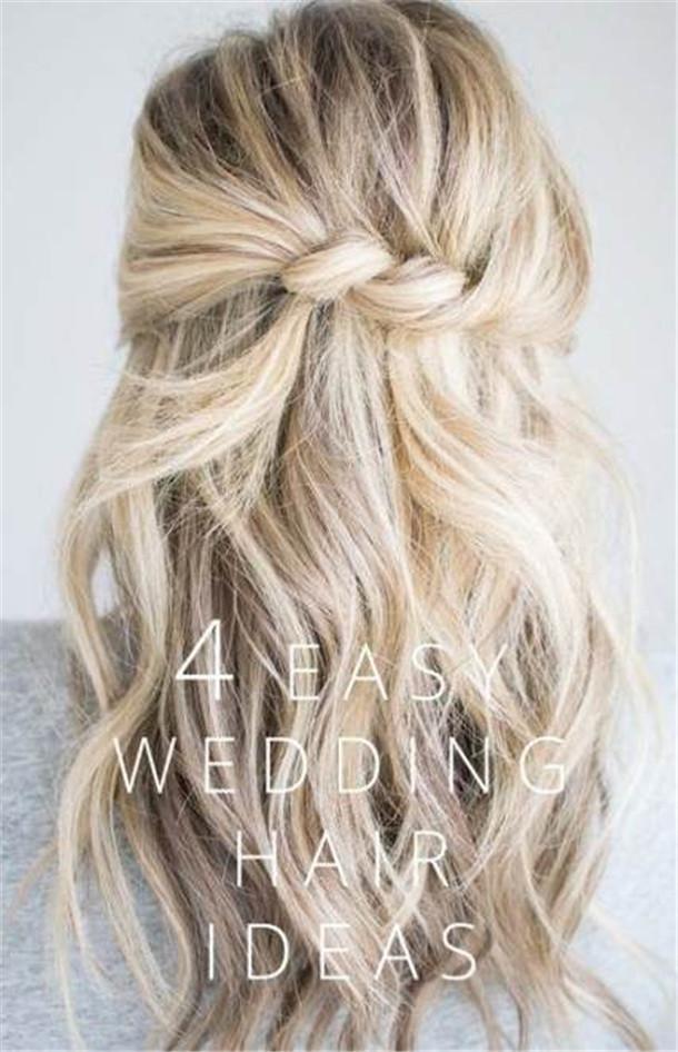simple wedding hairstyles