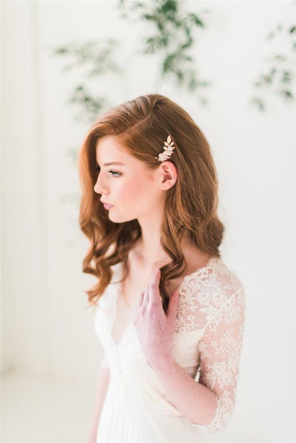 28 simple wedding hairstyles